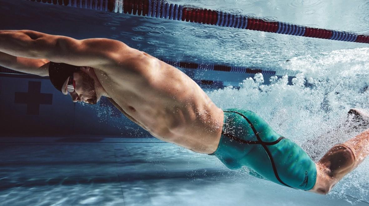 svømme billede